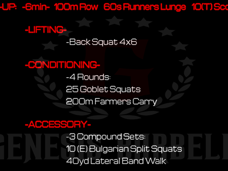 Daily Workout 7.27.21