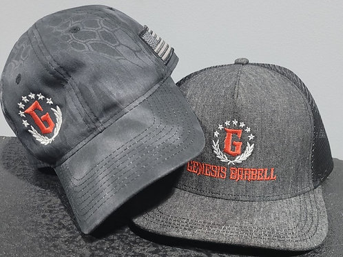Kryptek and Trucker hats