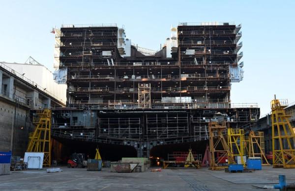 ¡Royal Caribbean empieza construcción del cuarto barco Oasis!