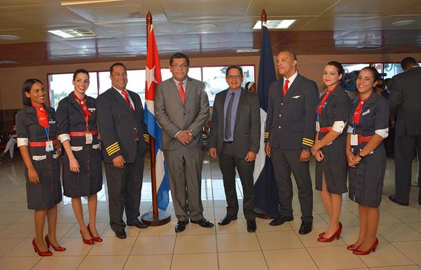 Aerolínea Pawa inicia vuelos directos entre Santo Domingo y La Habana, Cuba