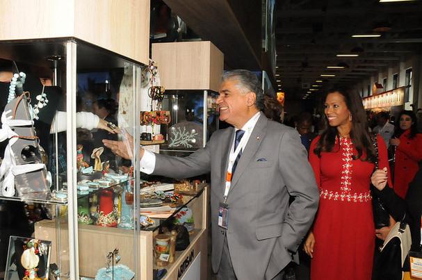 Feria Turística: República Dominicana exhibe en ITB-Berlín belleza y estabilidad económica