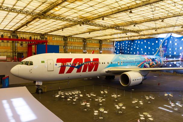 El primer avión temático de Disney que volará en Latinoamérica