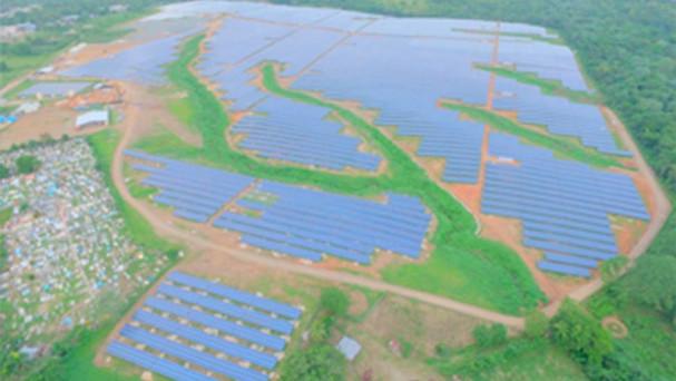 Inauguran en Monte Plata la planta de energía solar más grande de la región