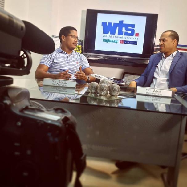 Entrevista en el programa de @visionemprendedora