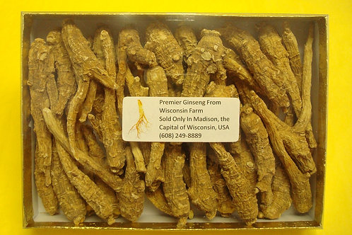 Wisconsin Ginseng 4 years aged, small roots (8 oz)