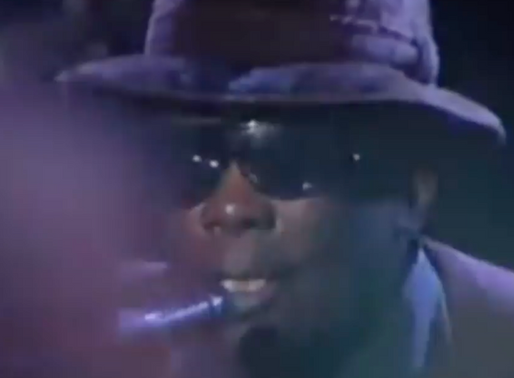John Lee Hooker, Santana y Etta James en vivo
