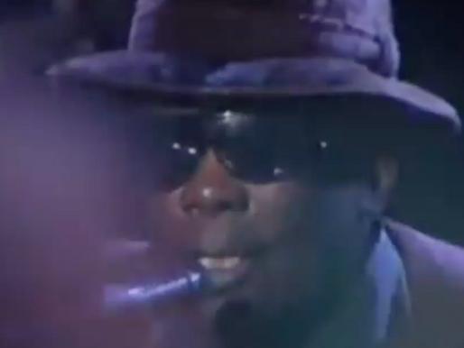John Lee Hooker, Santana y Etta James en vivo