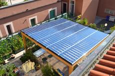 Pergolato fotovoltaico 3 kWp \ Termoli (CB)
