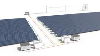 Progettazione 92MW di impianti fotovoltaici in zone aeroportuali  Sud Africa