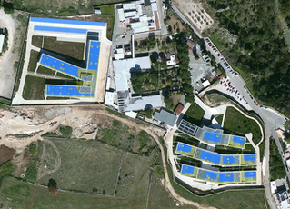 "Impianti fotovoltaici e Carport ""Centro riabilitativo OSMAIRM"" Laterza \ Italia"