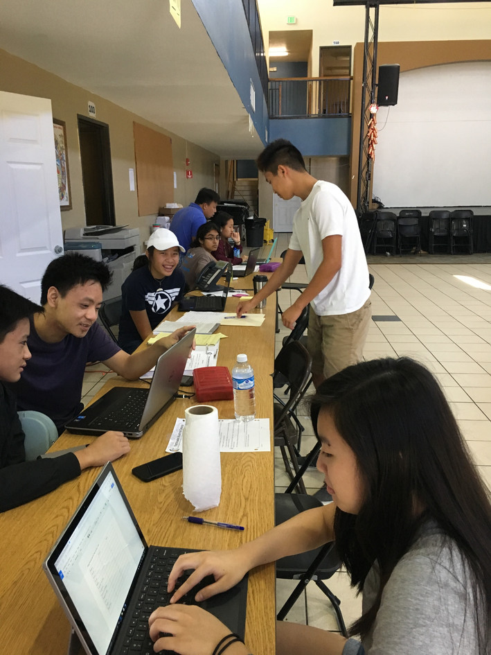 Signing people up for FEMA