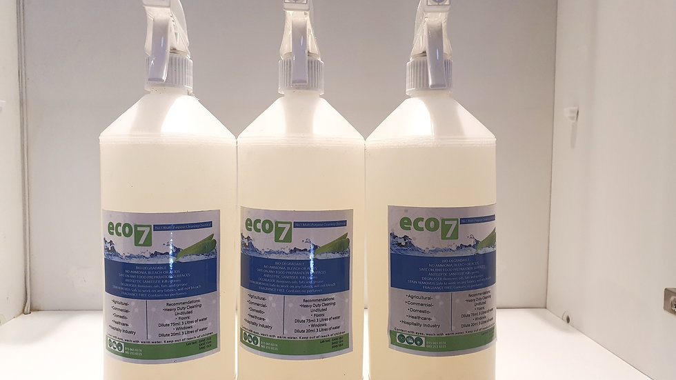 ECO7 - Multi-Purpose Cleaning chemical