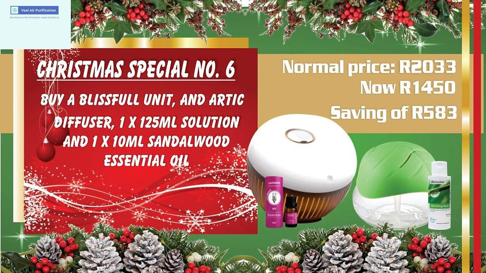 X-Mas 6 - Artic Diffuser & Blissful Air Purifier Bundle