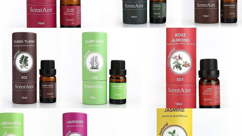 Essential Oil Bundle 3 - Buy the range of 10 and Save