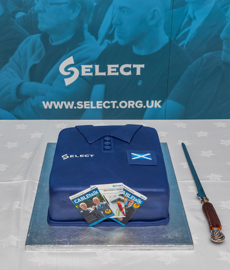 A special SELECT cake was among the many highlights