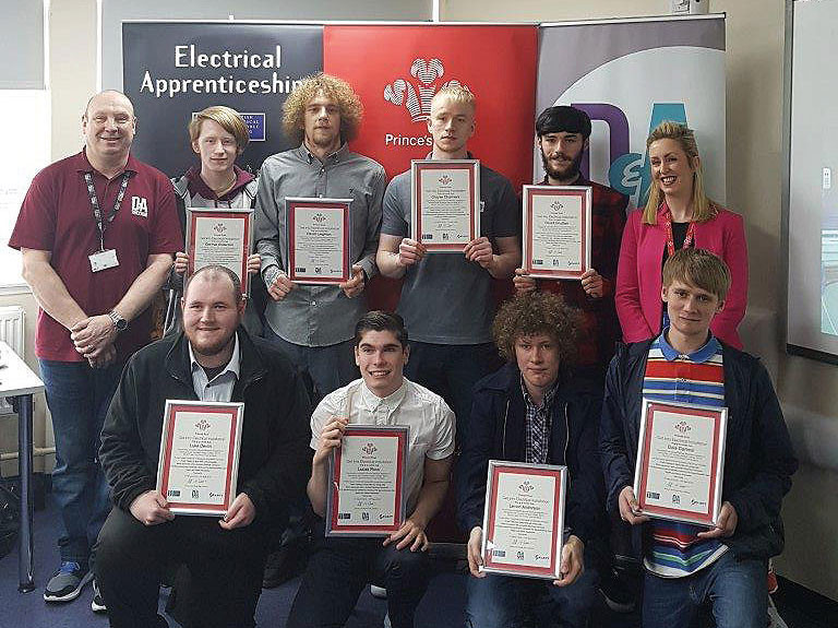 Apprentices from Dundee and Angus