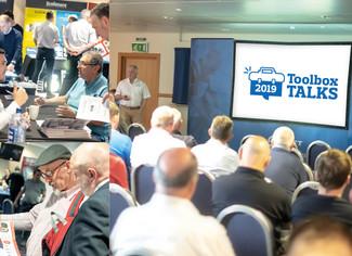 Members enjoy Hampden spark at latest Toolbox Talk