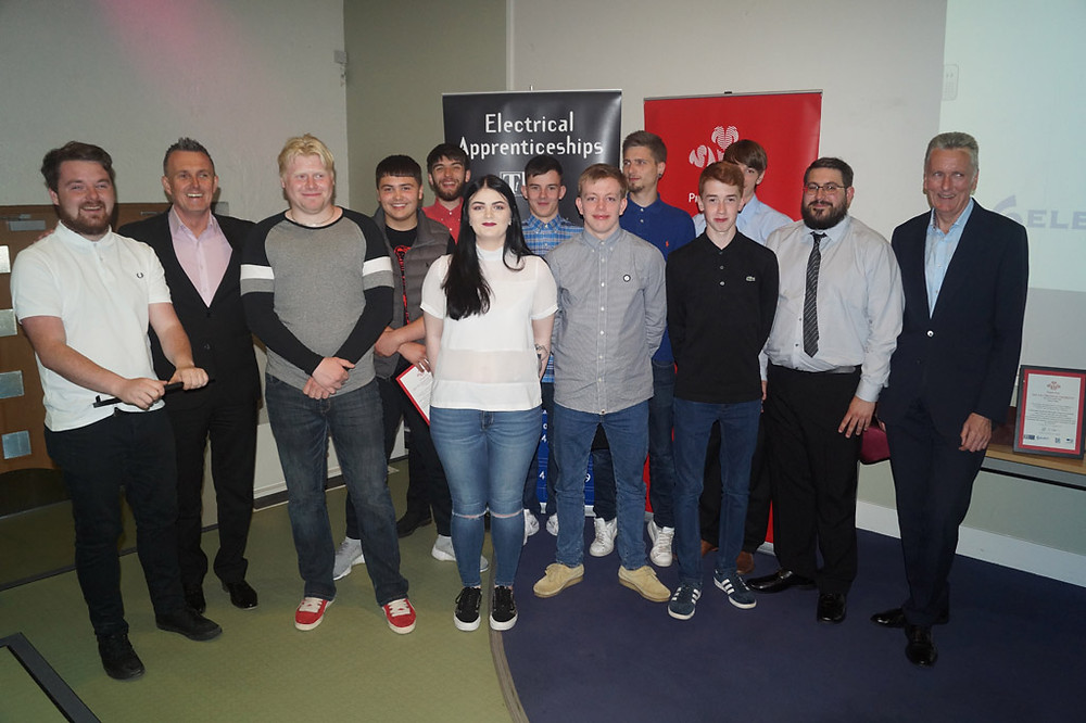 Dundee group with Newel McGuiness