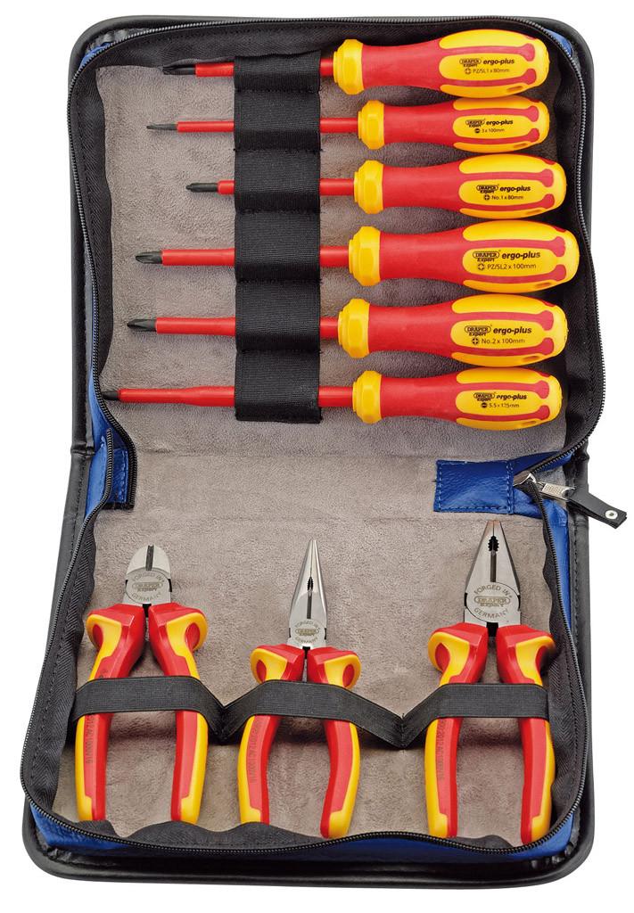 Draper tools' expert tools: Plier and screwdriver set