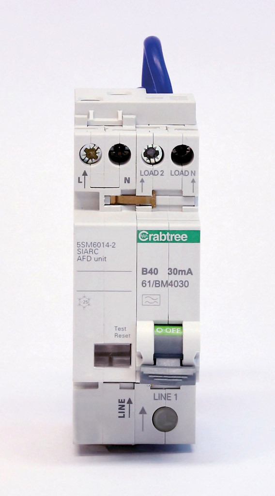 Crabtree's new Arc Fault Detection Devices
