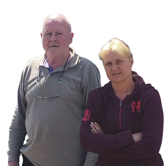 Susan and Dad Nick