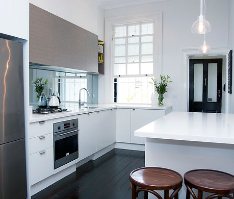 Modern Kitchen Styles- Milan, Shadowline, Shadow Line, Sharknose