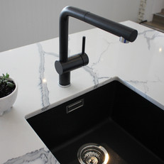 Black Sink and Tap