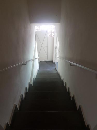 Escada acesso ao dormitorio de cima