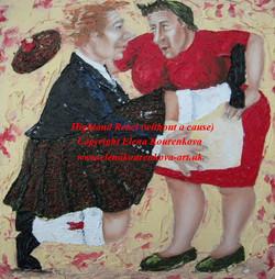 Humorous art-dance and music
