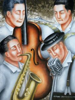 music in art, figurative artwork