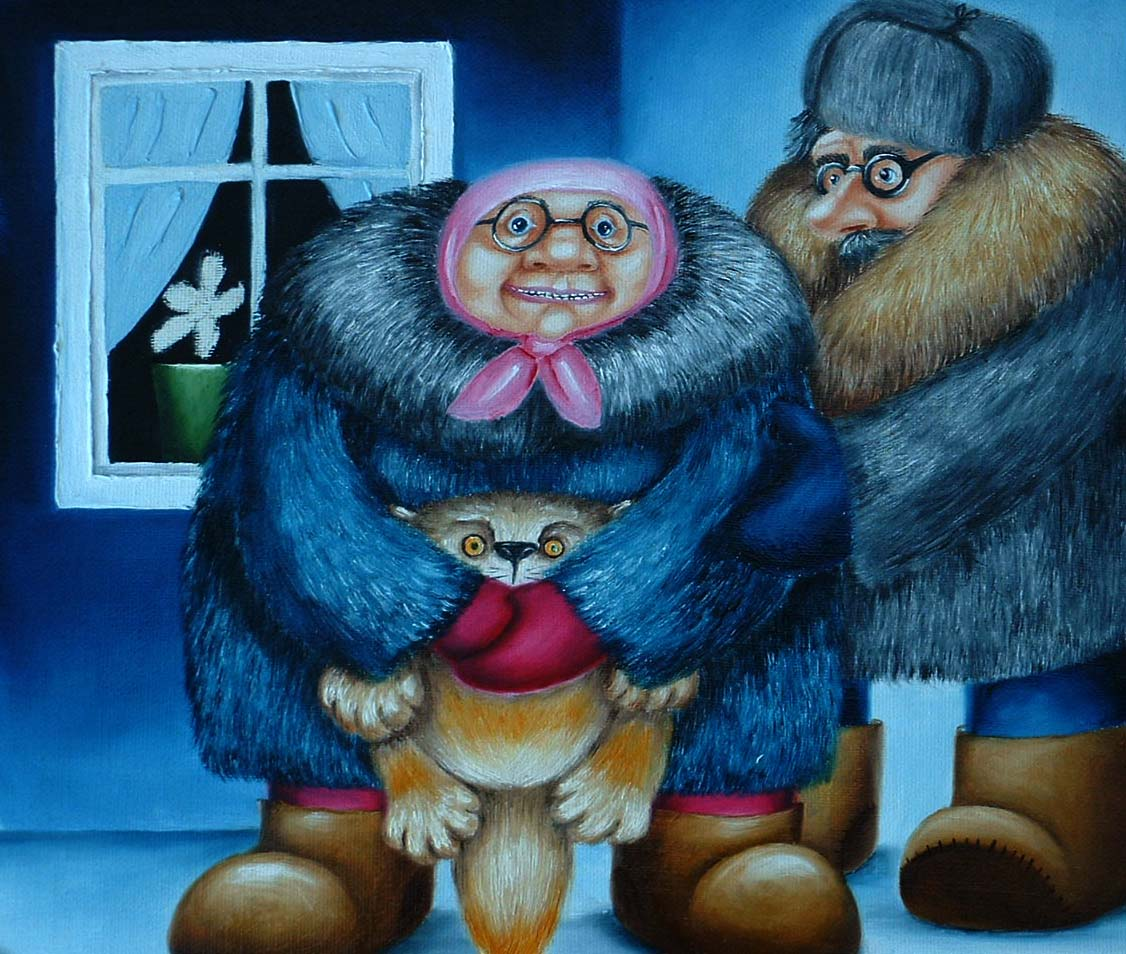 humorous art for sale by artist