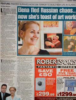 elena kourenkova newspaper article