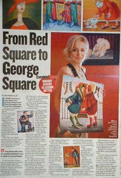 Evening Times Glasgow article