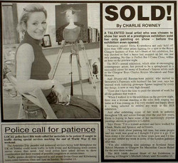 Glasgow Herald newspaper article