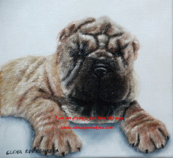 quirky paintings of pets dogs