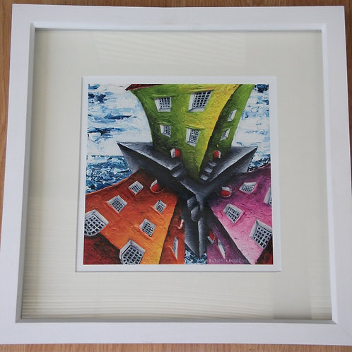 Framed giclee print-SOLD