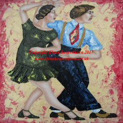 1920s dance art image