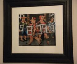 framed artwork print