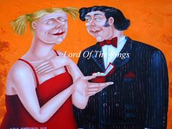 wedding gift painting,proposal gift