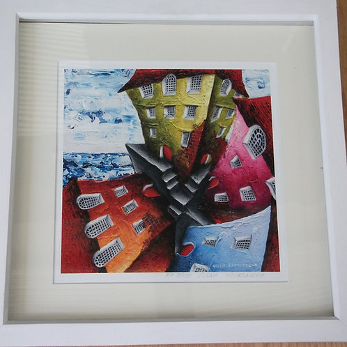 "Framed giclee print ""All is not what it seems""-SOLD"