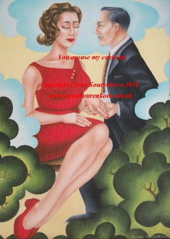 artdeco romantic couple,proposal