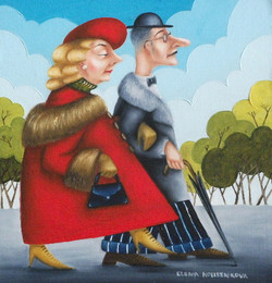 quirky whimsical humorous artwork
