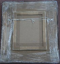 framed art work painting