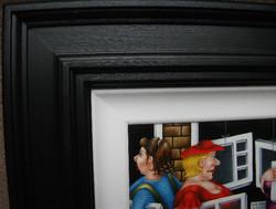 Framed original artwork