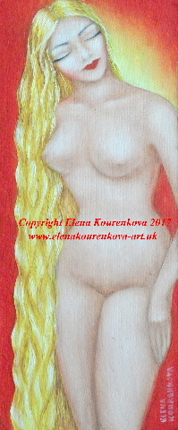 oil painting-nude