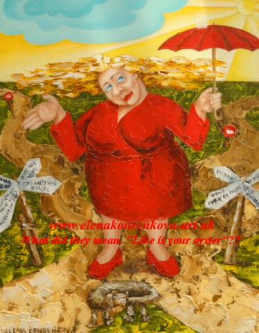 Whimsical humorous original artwork