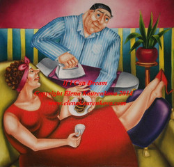 If I Can Dream..oil painting
