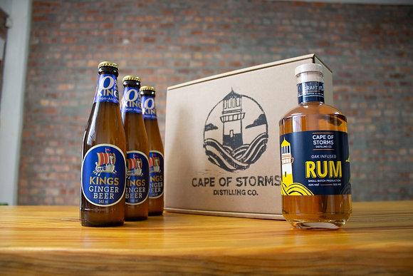 Oak Infused Rum - Kings Ginger Beer Home Tasting Kit