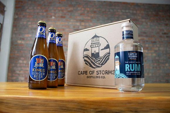 The Great White Rum - Kings Ginger Beer Home Tasting Kit