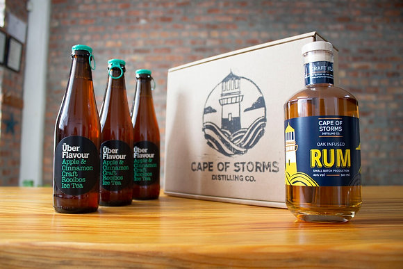 Oak Infused Rum - Uber Flavour Apple and Cinnamon Rooibos Iced Tea Home Tasting